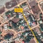 Tamarindos / Terreno 300 m2 con casa 2 rec / 200 m de la playa 2
