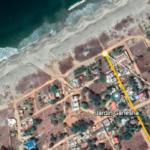 Tamarindos / Terreno 300 m2 con casa 2 rec / 200 m de la playa 3