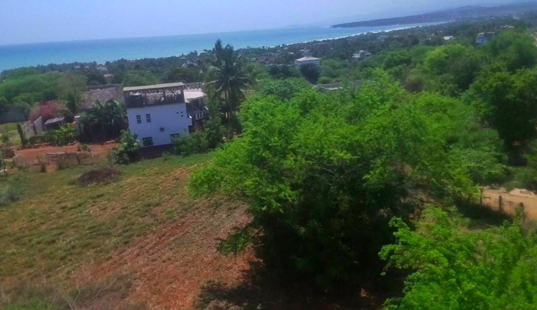 Punta de Zicatela / terreno 400 m2 / Junto a la carretera 1