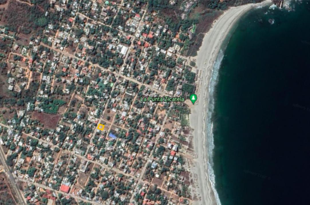 Punta de Zicatela / 300 m2 / Muy cerca de zona turística 1