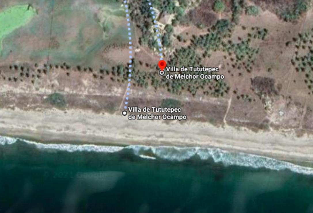 Playa Venado/ Terreno con 3 cabañas / 1600 m2 / Frente de Playa 1