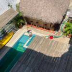 Punta de Zicatela/ Hotel de 12 habitaciones / piscina y palapa 5