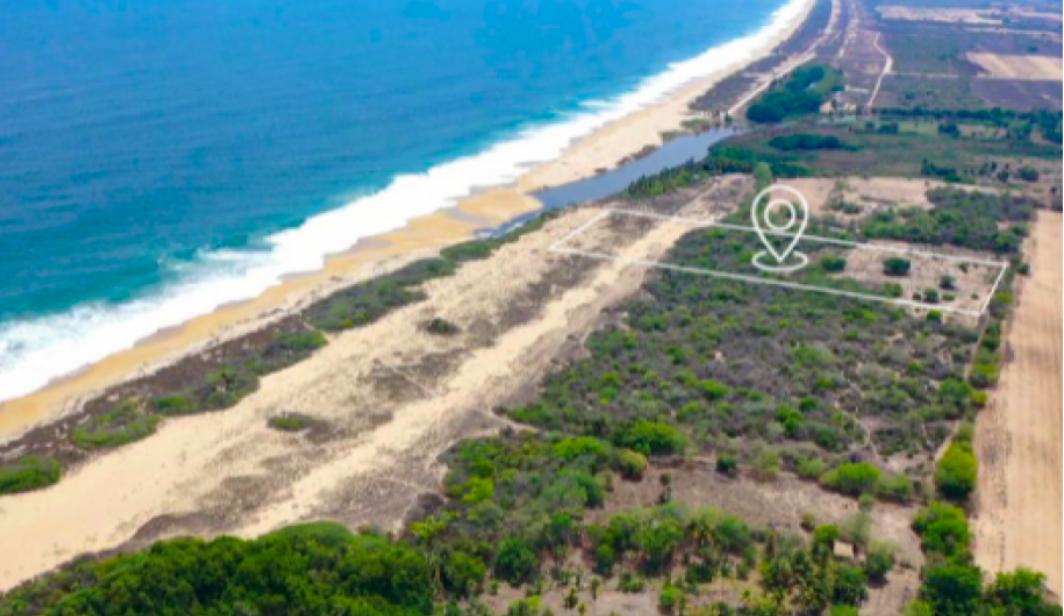 Agua Dulce / 15,000 m2 / Frente de Playa 1
