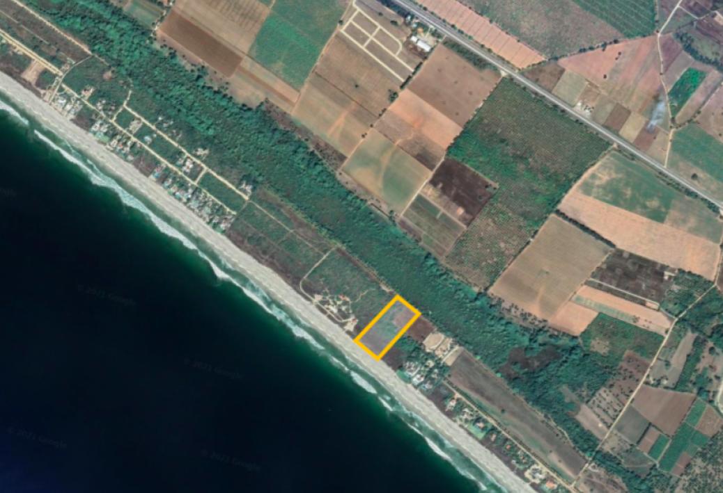 Rancho las mantas/7,018m2 frente de mar con escritura publica 1