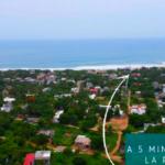 Punta de Zicatela / 2 lotes de 750 m2 / Cerca de la carretera 3