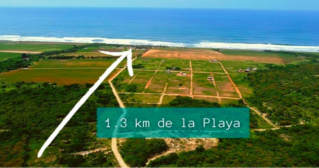 Tierra Blanca / 2,000 m2 / Cerca de la playa 1